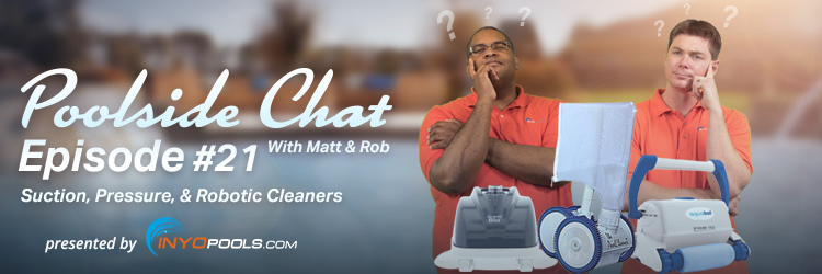 what is the difference between suction, pressure and robotic pool cleaners?