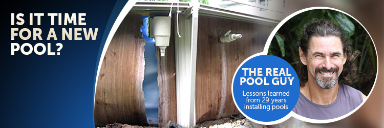 replacing an above ground pool